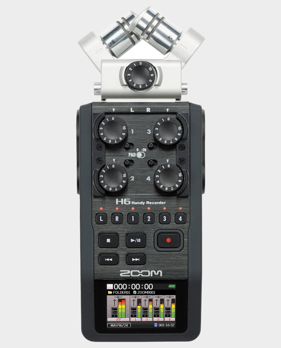 Zoom H6 Portable Handy Recorder in Qatar