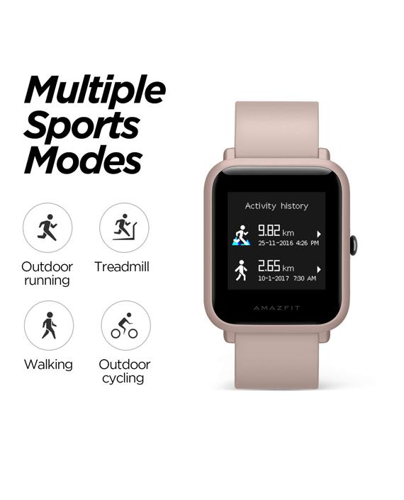 Amazfit Bip Lite Smart Watch in Qatar