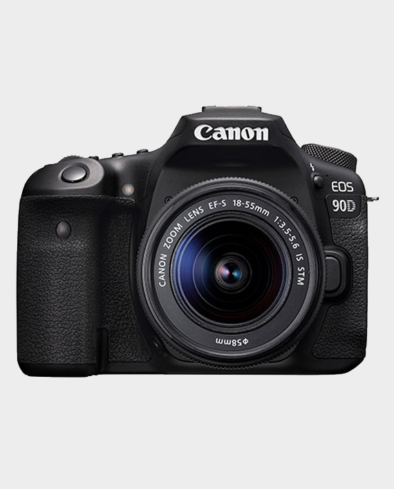 Canon EOS 90D + EF-S 18-55mm IS STM Lens