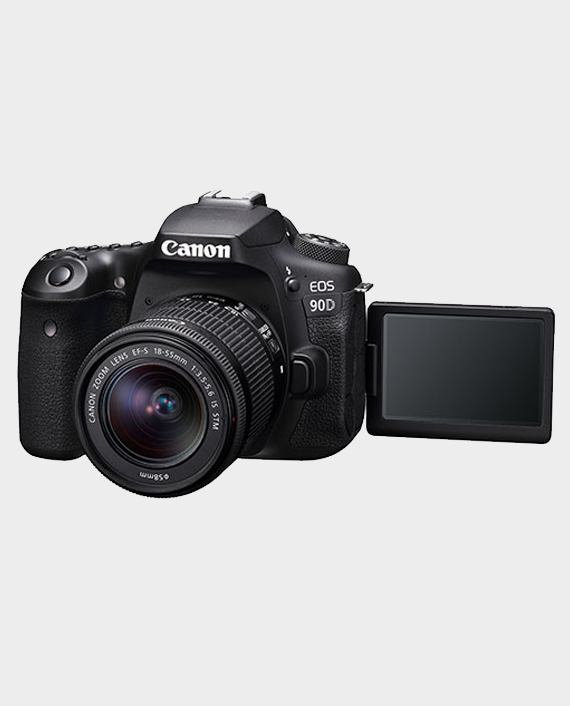 Canon EOS 90D + EF-S 18-55mm IS STM Lens in Qatar Doha