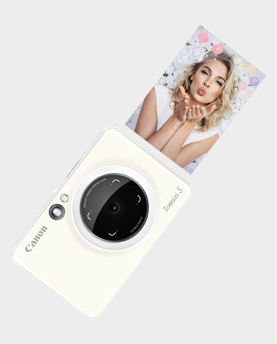 Canon Zoemini S Instant Camera Printer in Qatar