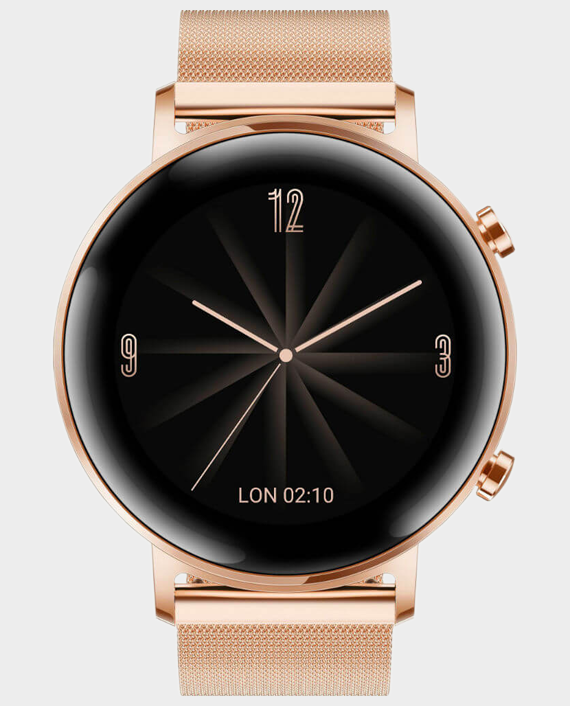 Huawei Watch GT 2 42mm - Refined Gold in Qatar