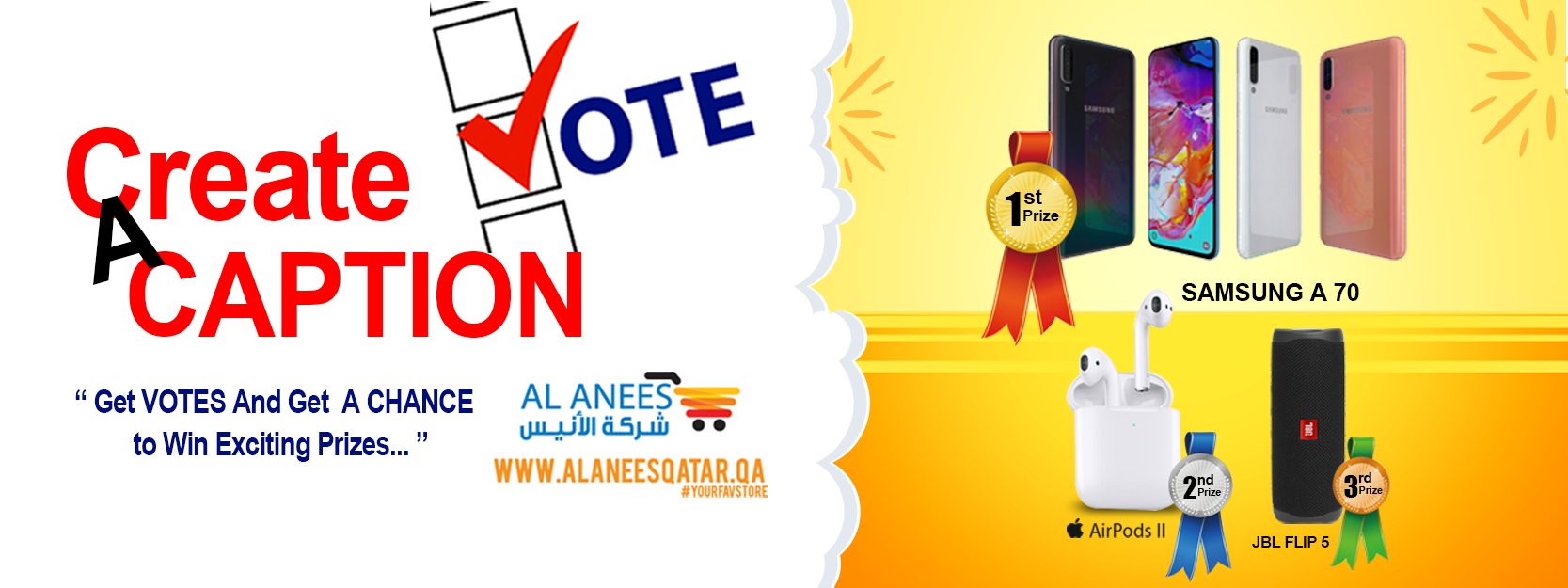 Al Anees Vote & Win Contest