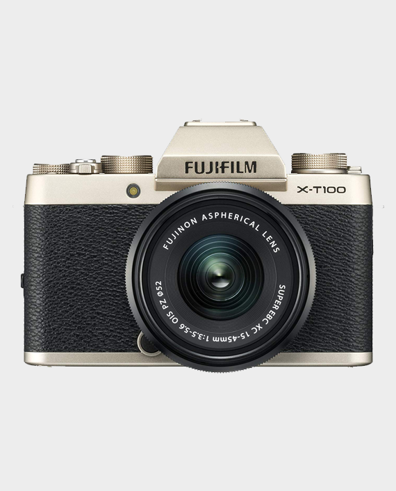 Fujifilm X-T100 Mirrorless Camera in Qatar and Doha
