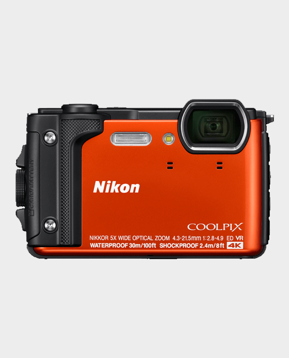 Nikon CoolPix W300 Orange in Qatar and Doha