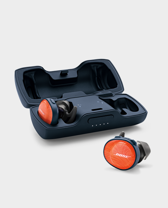 Bose SoundSport Free Wireless Headphones - Bright Orange in Qatar
