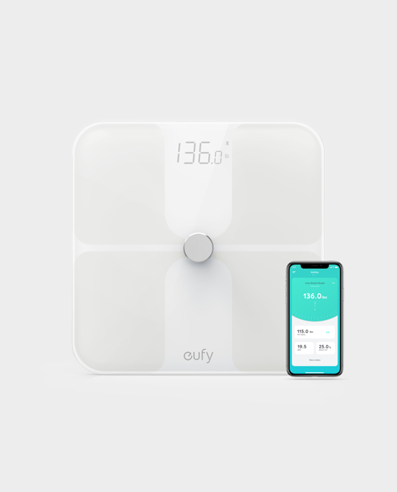 Eufy By Anker Smart Scale White in Qatar