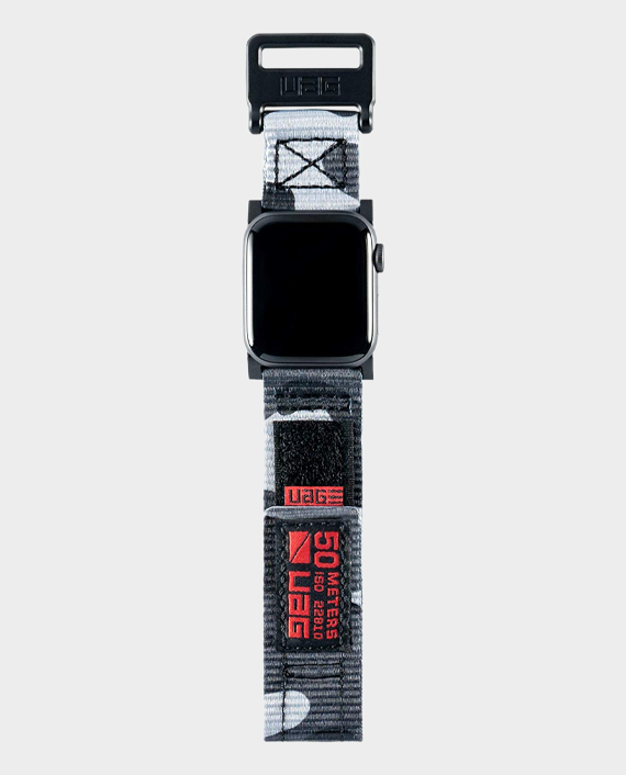 UAG Compatible Apple Watch Band 44mm 42mm Active Midnight Camo in Qatar