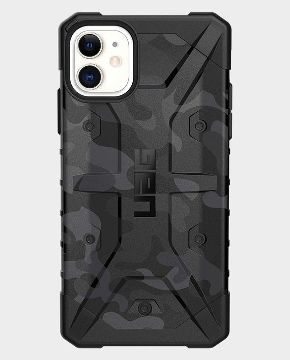 iPhone 11 UAG Pathfinder SE Feather-Light Rugged Midnight Camo Case in Qatar