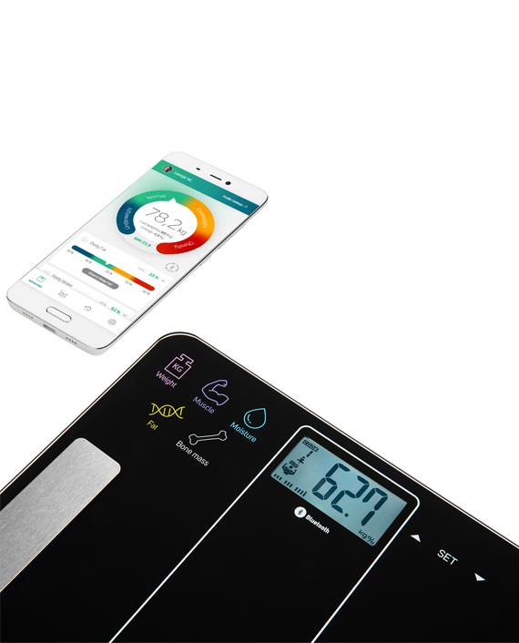 Sencor SBS 8000BK Bluetooth Fitness Scale