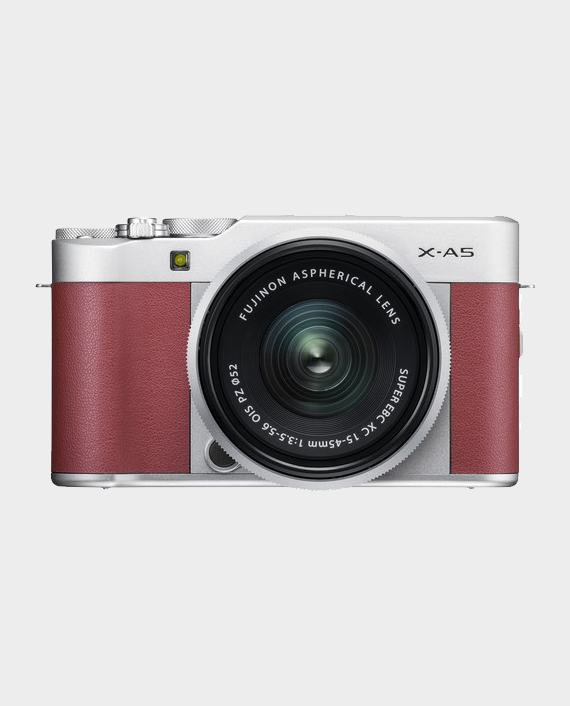 Fujifilm X-A5 With 15-45mm Pink in Qatar and Doha