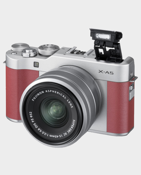 Fujifilm X-A5 With 15-45mm Pink Price in Qatar and Doha