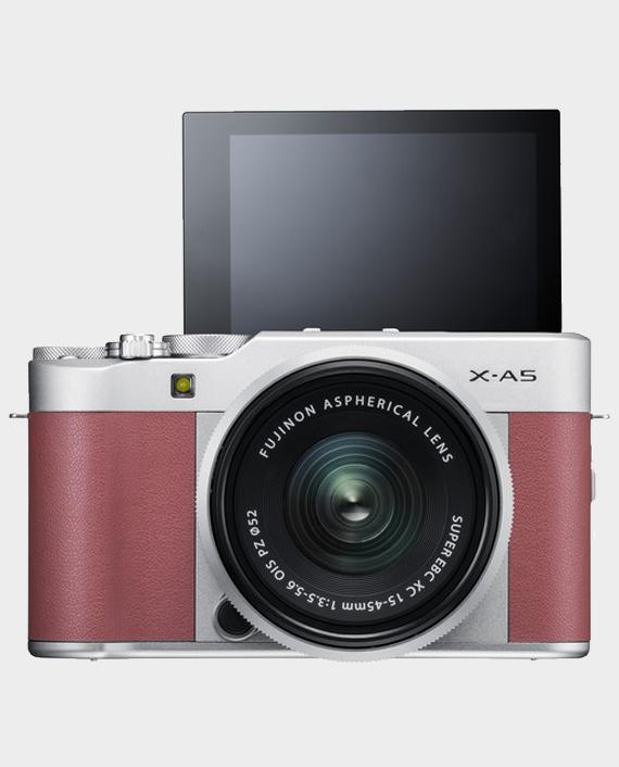Fujifilm X-A5 With 15-45mm Pink in Qatar