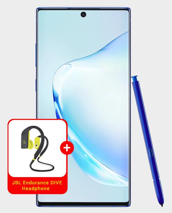Samsung Galaxy Note 10+ 5G Aura Blue in Qatar