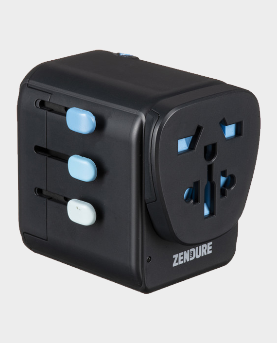 Zendure Passport Pro Travel Adapter With PD In Qatar