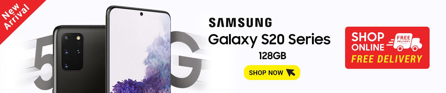 Samsung Galaxy 20+ 10 5G Banner