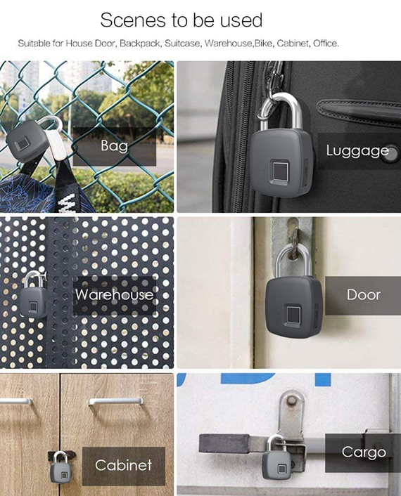 Smart Security Fingerprint Lock
