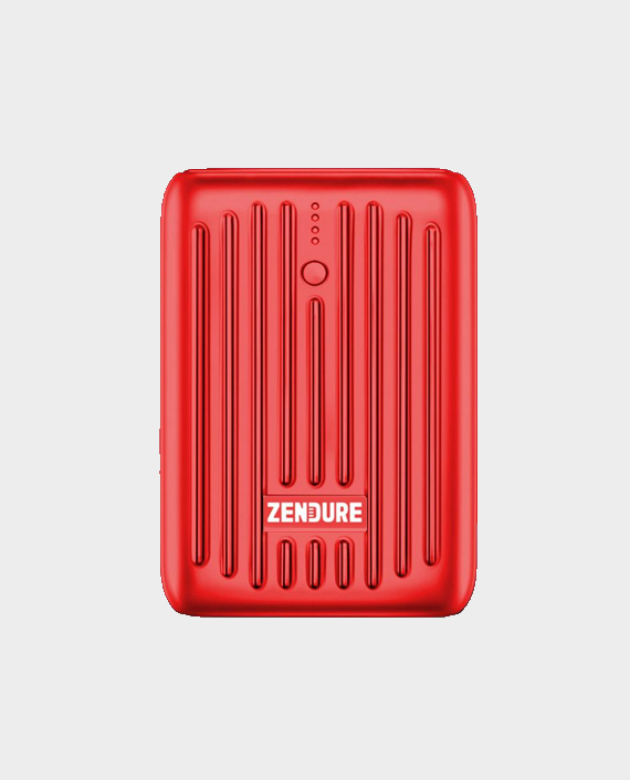 Zendure Super Mini 10000 mAh PowerBank With USB C PD Red in Qatar