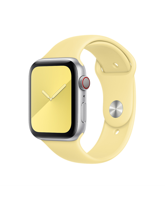 Apple Watch 44mm Lemon Cream Sport Band Regular