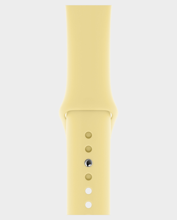 Apple Watch 44mm Lemon Cream Sport Band Regular in Qatar
