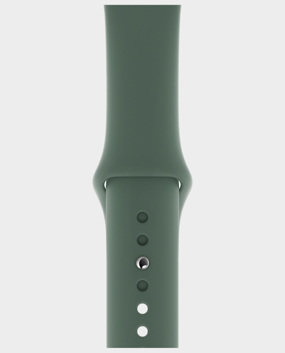 Apple Watch 44mm Pine Green Sport Band Regular in Qatar