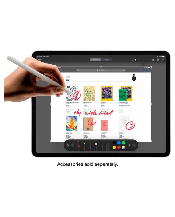 Apple iPad Pro 12.9 2020 Wifi 128GB Silver