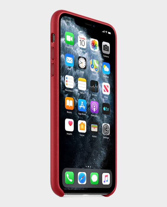 Apple iPhone 11 Pro Max Leather Case - (Product) RED