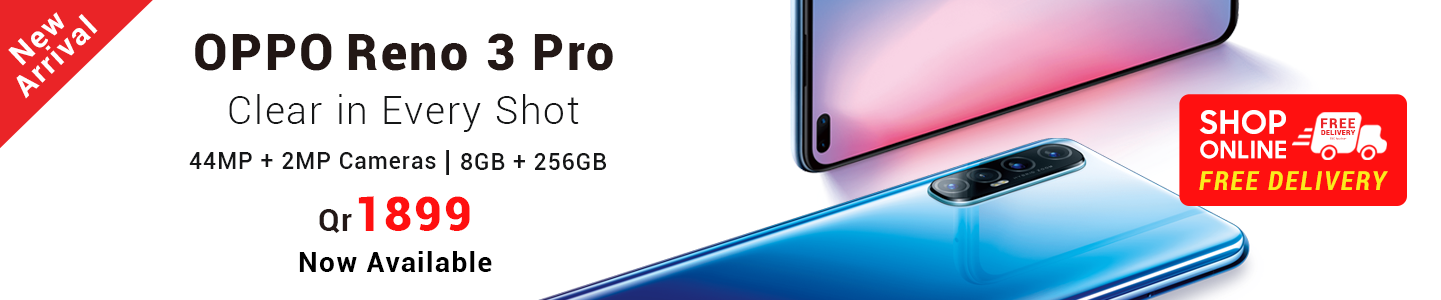 OOppo Reno 3 Pro in Qatar and Doha