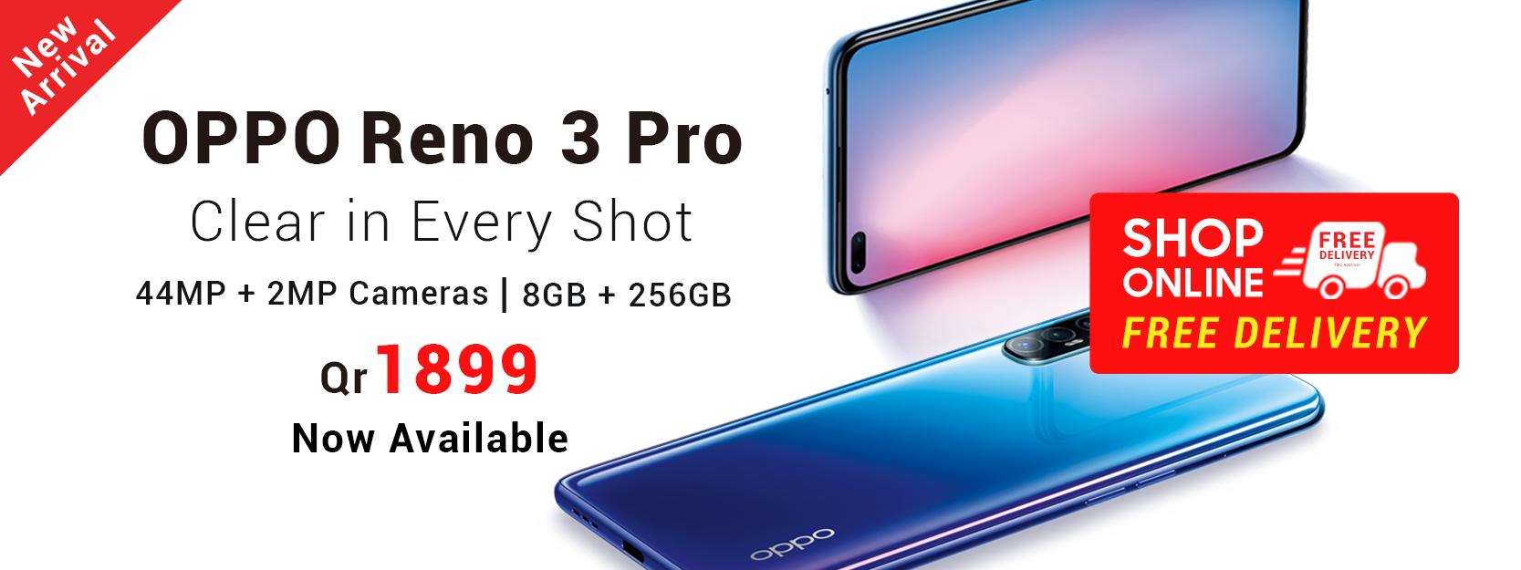 Oppo Reno 3 Pro in Qatar