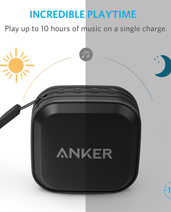 Anker Soundcore Sport Un Black With Offline Packaging