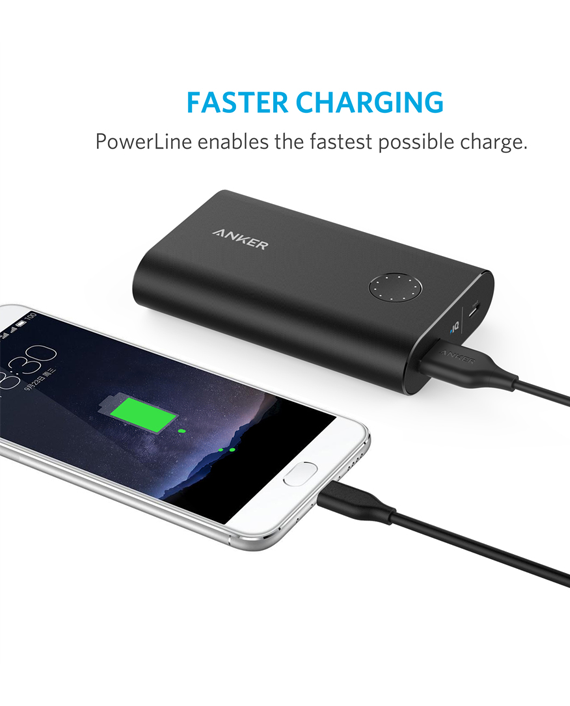 Anker PowerLine 3ft USB-C to USB 3.0 - Black