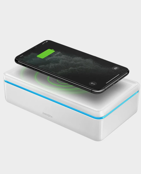 UV Sanitizing Box with Wireless Charging