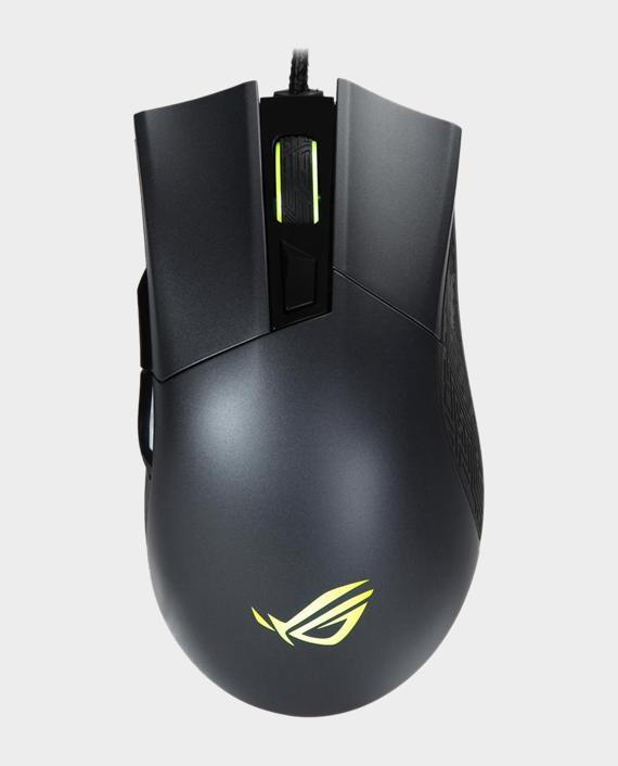 ROG Gladius II Origin Wired USB Optical Ergonomic FPS Gaming Mouse in Qatar
