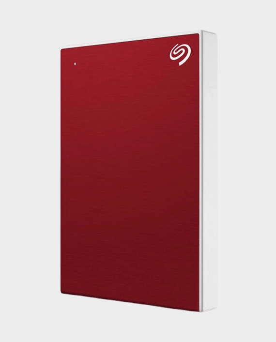 Seagate 4TB Backup Plus Slim External Hard Drive Red in Qatar
