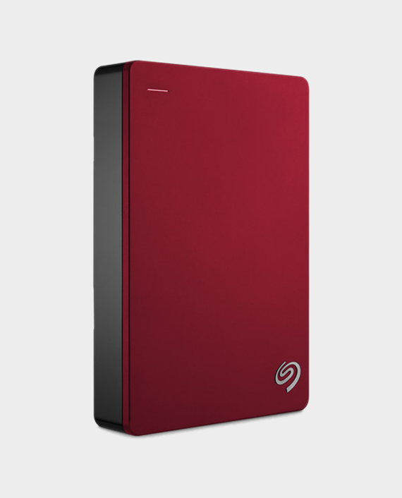 Seagate Backup Plus Portable 4TB External Hard Drive HDD Red in Qatar