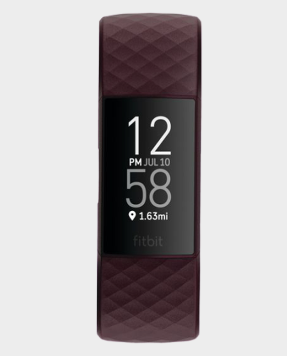 Fitbit Charge 4 Fitness and Activity Tracker with Built-in GPS Rosewood in Qatar