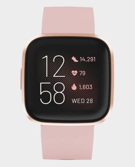 Fitbit Versa 2 Smart Watch Petal & Copper Rose in Qatar