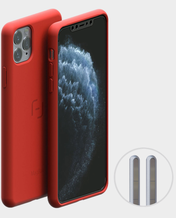 MagBak iPhone 11 Pro Case Coral Red in Qatar