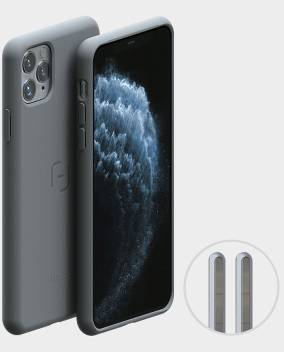 MagBak iPhone 11 Pro Case Gray in Qatar