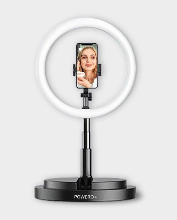Powero+ Live Beauty Ring Light 10 Inch in Qatar