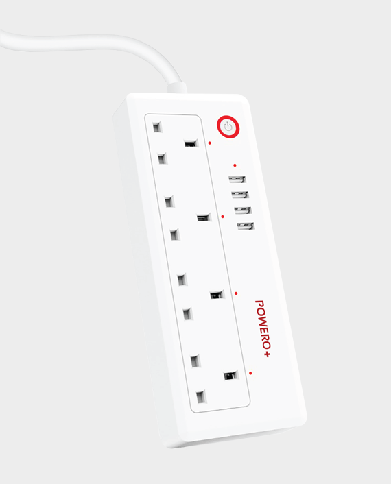 Powero+ UK Smart Wifi Smart Power Strip in Qatar