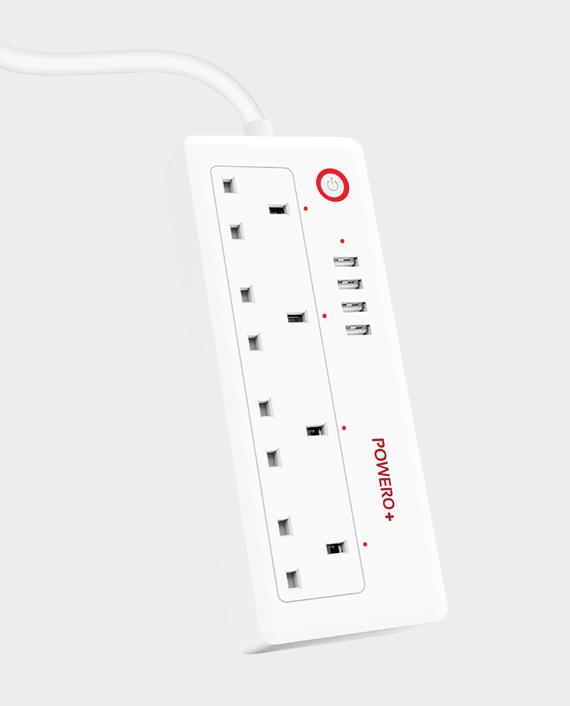 Powero+ UK Smart Wifi Smart Power Strip in Qatar