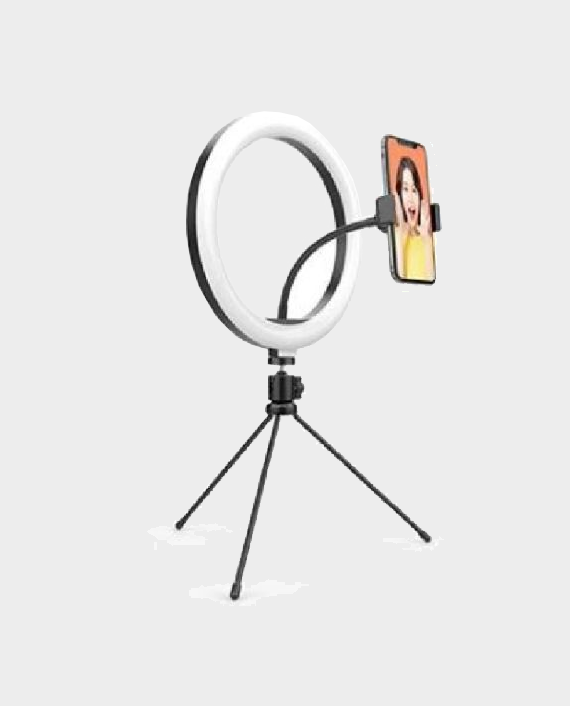 wonew desktop beauty ring light with tripod zj02-5g