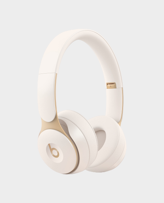 Beats Solo Pro Wireless Headphone Ivory in Qatar