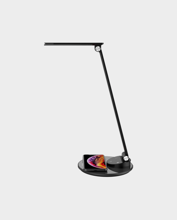 Energea LED Desktop Lamp with Fast Wireless Charging Pad