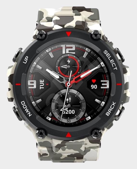 Amazfit T-Rex Smartwatch Camo Green in Qatar