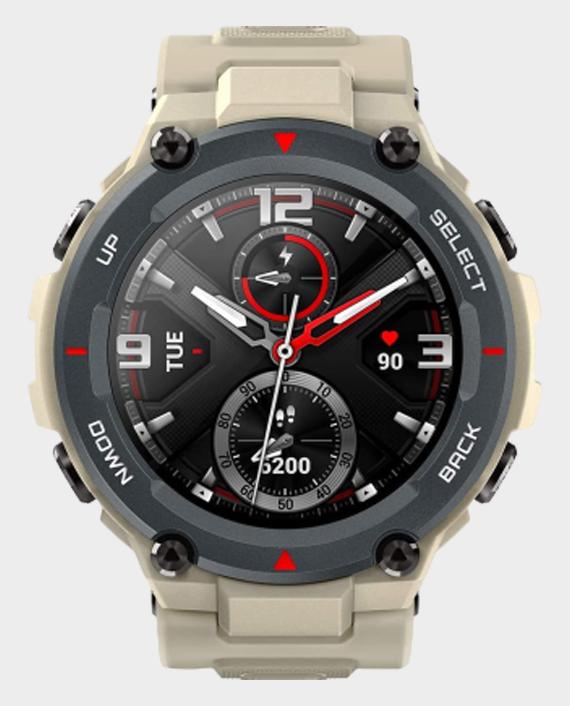 Amazfit T-Rex Smartwatch Khaki in Qatar