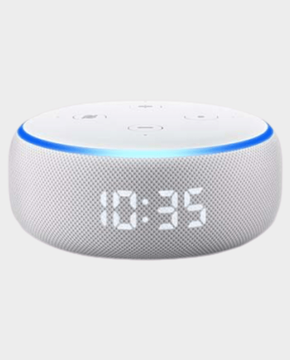 Amazon Echo Dot (3rd Gen) Smart Speaker with Clock in Qatar