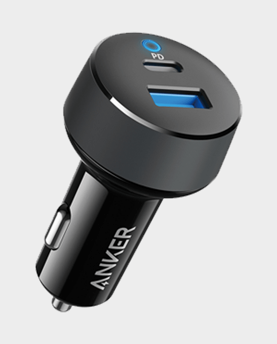 Anker Power Drive Classic PD2 with Lightning and Type-C Charging Cable in Qatar