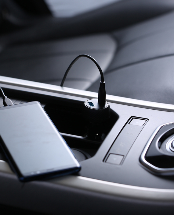 Anker Power Drive Classic PD2 with Lightning and Type-C Charging Cable